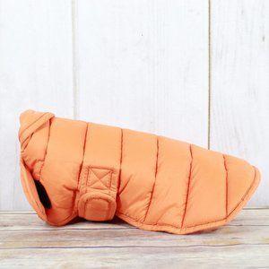 LL BEAN Sweat Jacket Insulated Pet Parka Dog